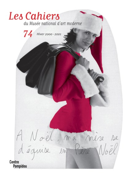 n° 74 des Cahiers du Musée national d'art moderne