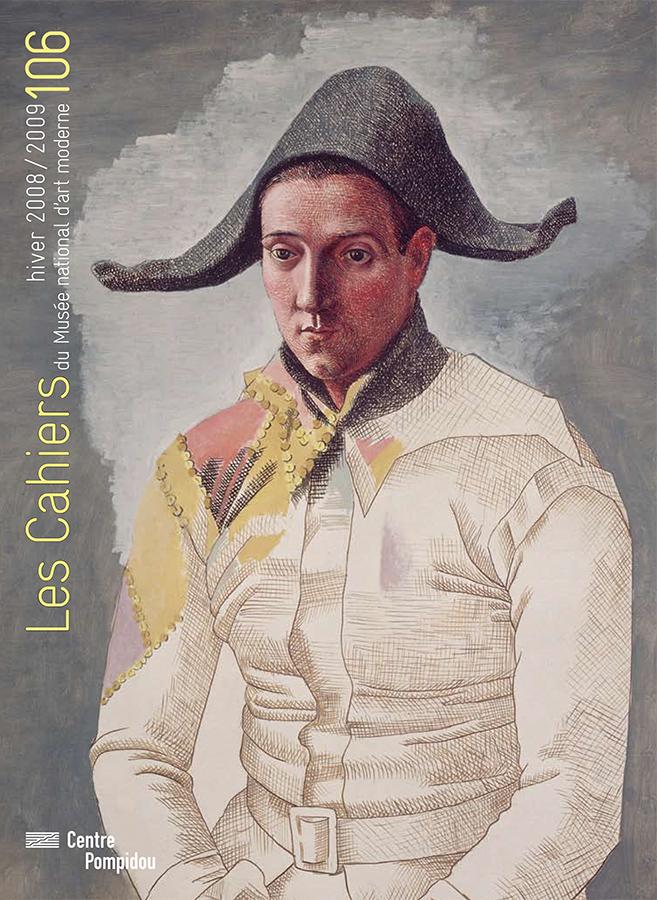n° 106 des Cahiers du Musée national d'art moderne