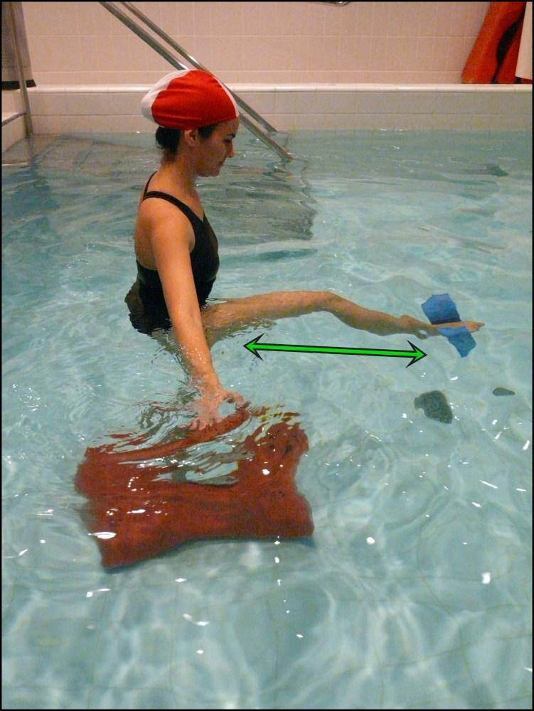 Balneoterapia: Ejercicios con las extremidades inferiores (5/6)