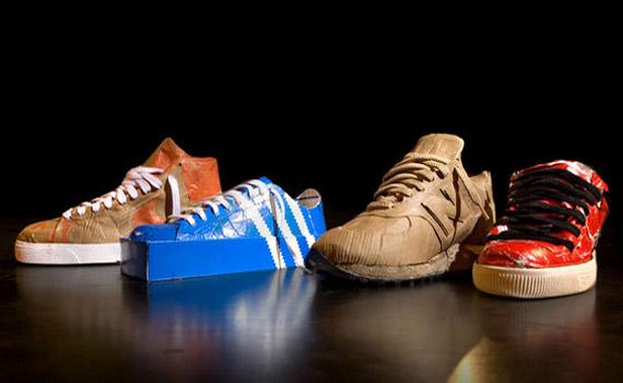 Recreando zapatos con sus propias cajas