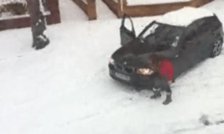 Curso de conducción en la nieve para Chicas