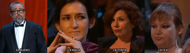 Los protagonistas de los Goya 2011
