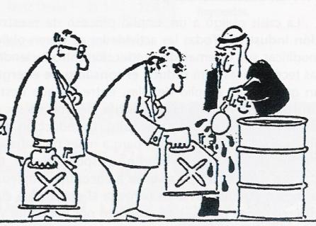 Que eliminen el petróleo de una vez por todas