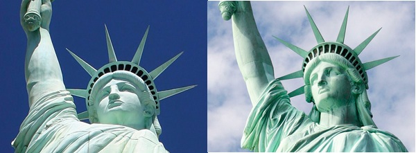 Fallo épico con las Estátuas de la Libertad