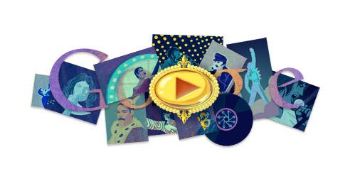 freddie mercury doodle google