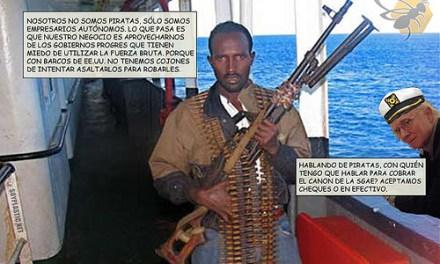 Pagar a unos piratas es cosa de gobiernos blandos