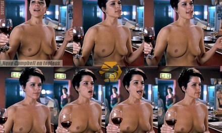 El Topless de Neve Campbell