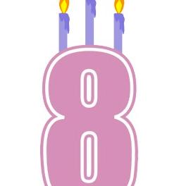 8 años cumple mi blog
