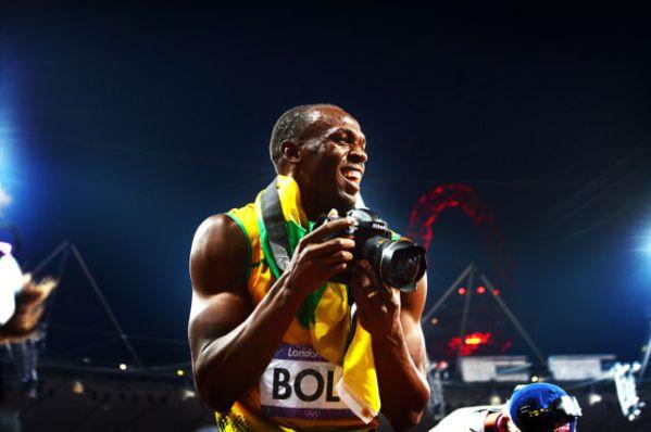 Subasta cámara que usó Bolt
