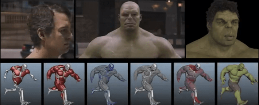 Efectos especiales The Avengers