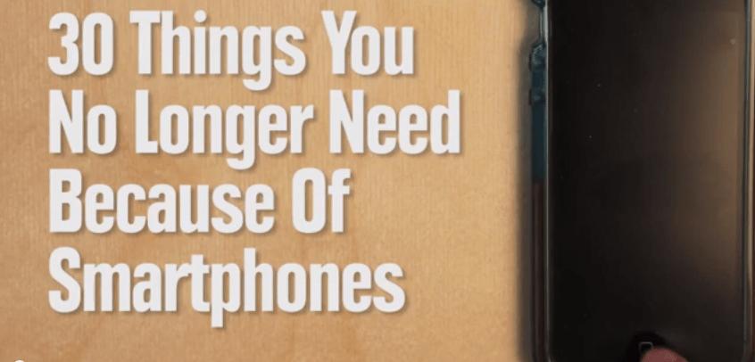 30 cosas que ya no usas gracias al smartphone