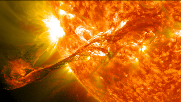 energía del sol