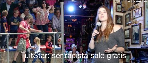 Raquel Sastre racista