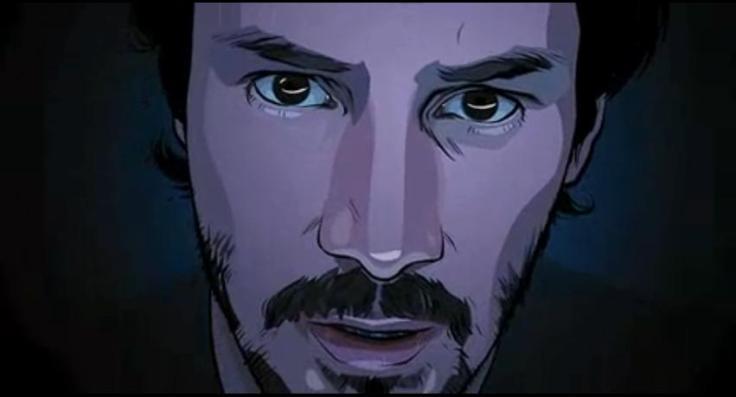 Keanu Reeves en A Scanner Darkly