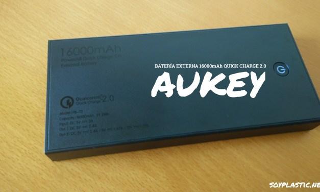 Análisis: Aukey PB-T3-AYES Batería externa 16000mAh