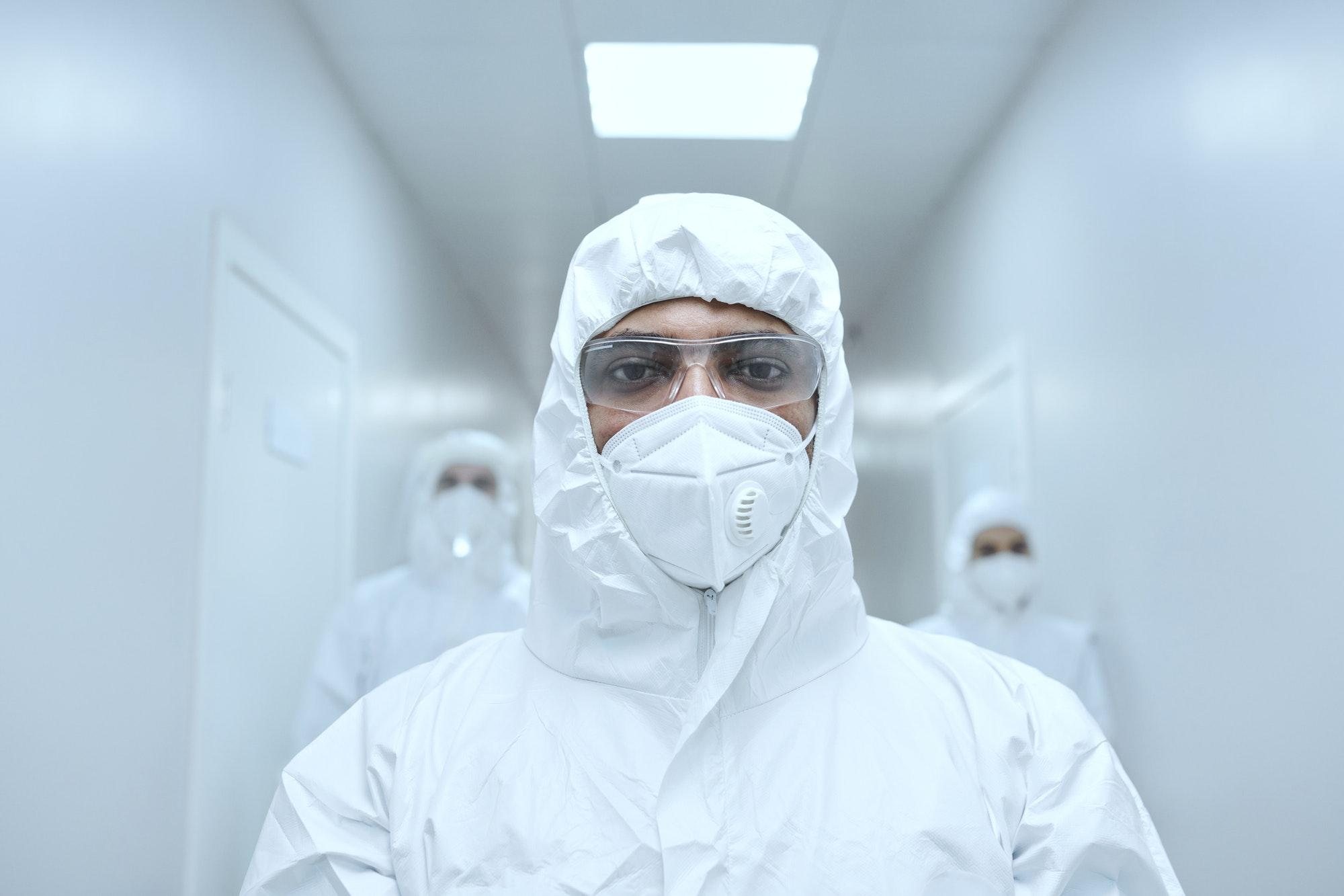 Coronavirus pandemic at hospital