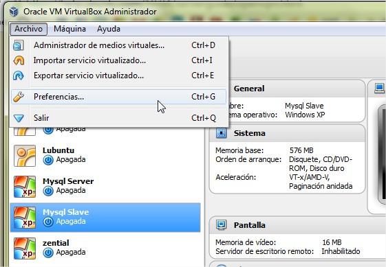 Oracle VM VirtualBox Administrador 1