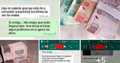 Circula en Facebook venta de billetes falsos