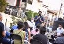 Roberto Sosa Pichardo se reúne con vecinos de Tejeda