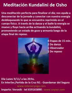 """""""Meditación Kundalini de Osho"""""""