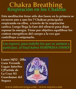 """""""Meditación Chakra Breathing"""""""