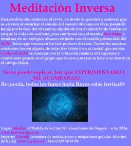 """""""Meditación Inversa"""""""