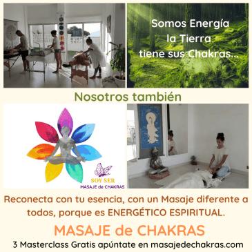 Masaje de Chakras ¡Conoce Gratis la Base de la Técnica!