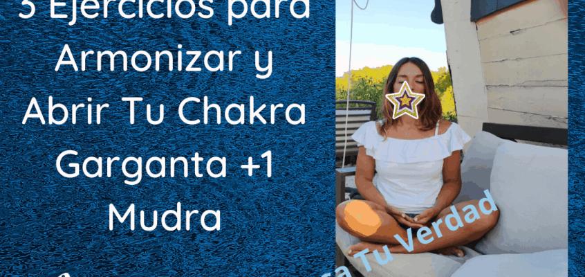 Armoniza Tu Chakra Garganta Fácil, Rápido y en Casa!