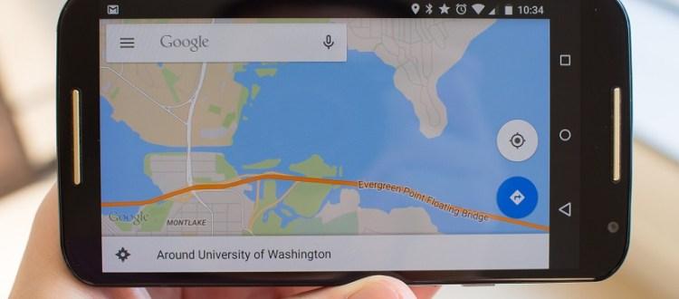 localizaciones en Google Maps