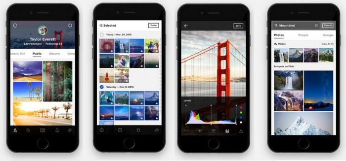 Flickr en tu celular