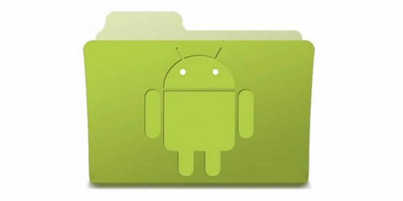 explorar de archivos Android