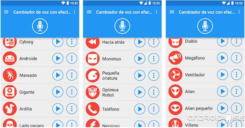 apps para editar voces y compartirlas