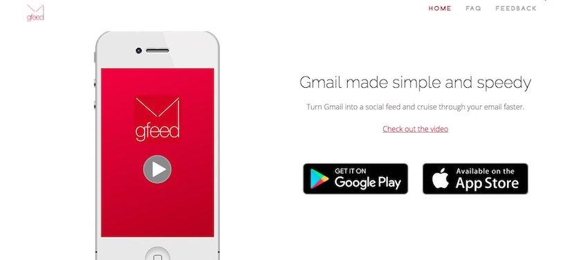 Gmail se adapta al diseño de Instagram