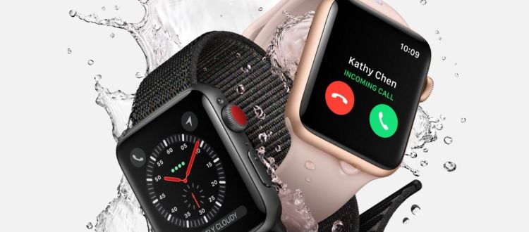 Apple Watch Series 3 con watch OS 4
