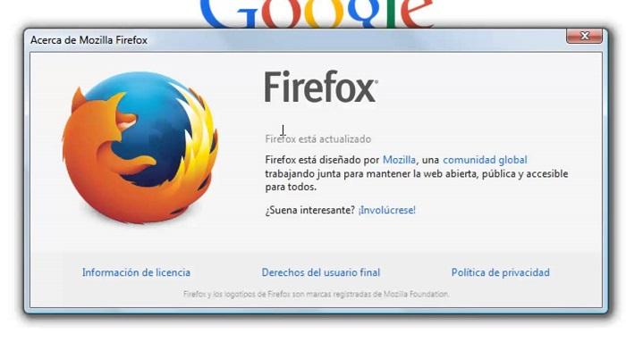 actualizar Mozilla
