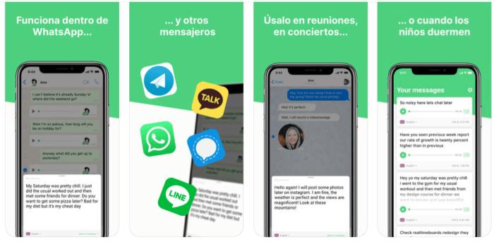 Transcribir audios WhatsApp