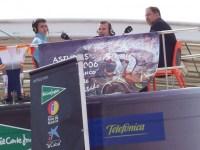 Año 2006. Programa al aire libre de Punto Radio, con público