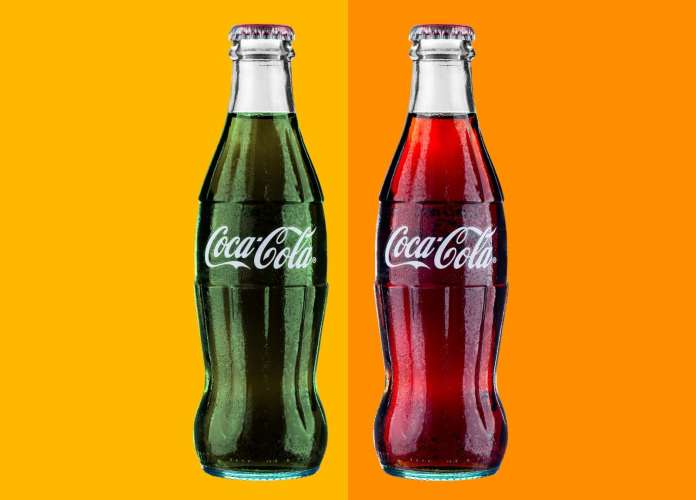 Image result for coca cola was originally green