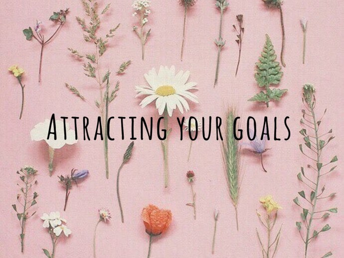 attracting your goals