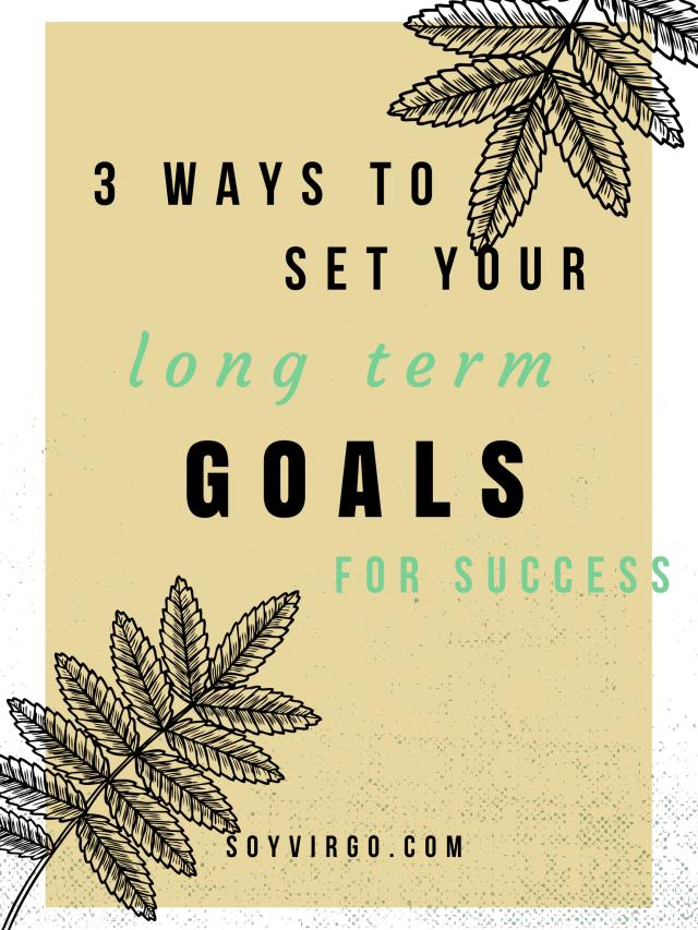 soyvirgo goals