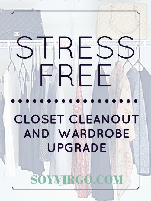 closet cleanout by soyvirgo.com