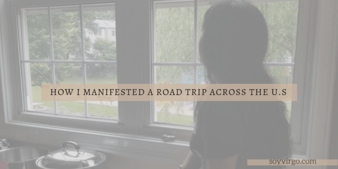 how i manifested a roadtrip photo cover