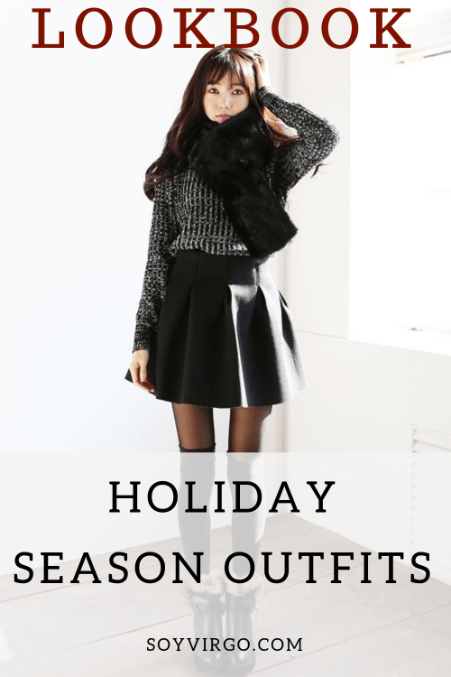 holiday outfits lookbook by soyvirgo.com