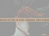 hairstyles to try in 2020 - fringe hair, choppy bangs, blog cover by soyvirgo.com