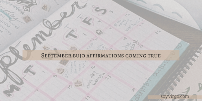 september bujo 2020 affirmations coming true blog post cover soyvirgo.com