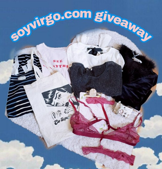 soyvirgo.com first blog giveaway wordpress blogger clothing and money giveaway giftcard - cute clothes depop to sell