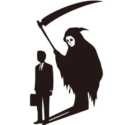 Shadow of Deathのシルエットイラスト