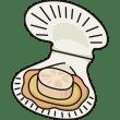 食品 帆立貝(ホタテ貝)(カラー)