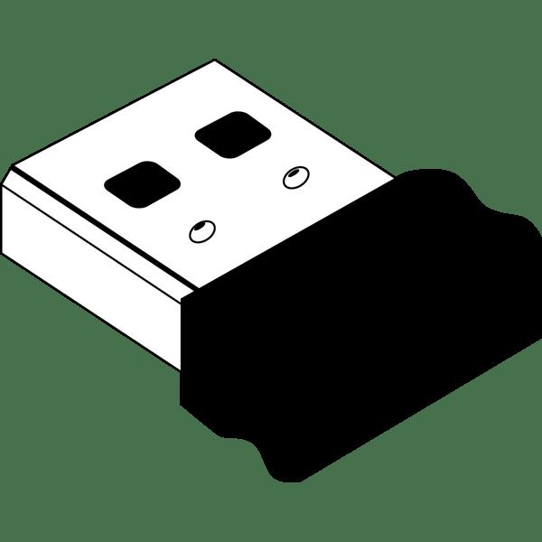 ビジネス USBレシーバー(モノクロ)