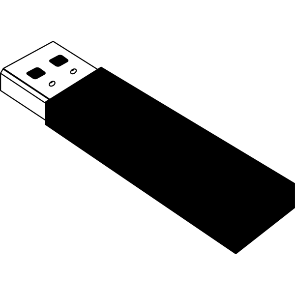 ビジネス USBメモリ(モノクロ)